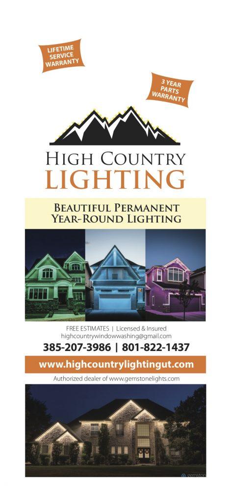 High Country Lighting Doorhanger